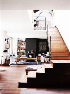 On habille son #intérieur avec le total look #bois
