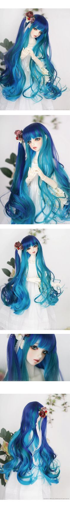 CROSS ¢Ó AMBITION - CROBIDOLL Hair inspiration  I want this wig in brunette for Hope (resin Ellowyne Wilde doll)
