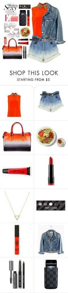 """12.02.16-2"" by malenafashion27 ❤ liked on Polyvore featuring Gucci, Furla, Torrid, NYX, Wanderlust + Co, Madewell, Bobbi Brown Cosmetics, Louis Vuitton, women's clothing and women"