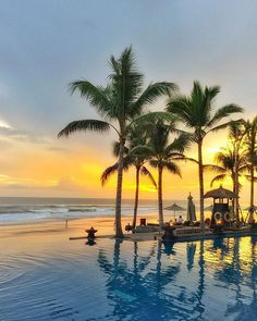 Evenings by the sea at The Legend Bali