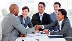 Multi-ethnic business people greeting each other by Wavebreakmedia. Multi-ethnic business people greeting each other in a meeting Affiliate Marketing, Content Marketing, Web Business, Online Business, Business Quotes, Insurance Agency, Success, Writing Services, Lead Generation