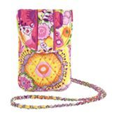Cell Phone Crossbody in Clementine
