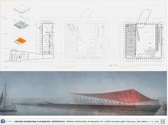 Cecilia Puga lidera equipo ganador de diseño del Terminal Internacional de Pasajeros de Punta Arenas, Chile,Primer Lugar. Image Cortesía de Organización del concurso