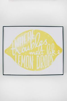 Free Printable Wizard of OZ, Over the Rainbow, Where Troubles Melt Like Lemon Drops print