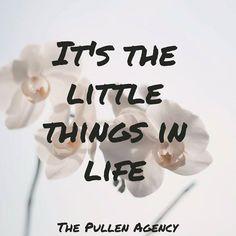 It's the little things in life. #Motivation #Inspirational #FarmersInsurance #ThePullenAgency #SoMobile - http://ift.tt/1HQJd81