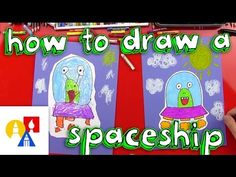 This is a great project to do with kids. This tutorial is great and teaches young artists about primary and secondary colors!