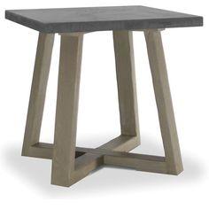 "Brownstone Furniture: Saratoga End Table $456.00 plus tax & shipping 24""w x 24""d x 24""h"