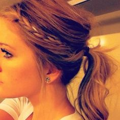 Pretty, make Your Ponytail So Much Cuter With One Easy Step!