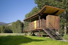 Rolling Huts,© Chad Kirkpatrick / Olson Kundig