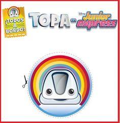 Pin de TOPA Disney Junior para imprimir y decorar Disney Junior, Disney Jr, Junior Express, Express Logo, Ideas Para Fiestas, Party, Kids, Top, Titanic
