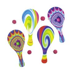 Picture of Psychedelic Paddleball Games