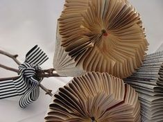 paper protea (paper flowers) tutorial