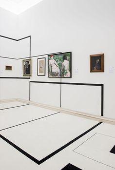 LE TEMPS DES COLLECTIONS / MUSEE DES BEAUX ARTS / ROUEN / 2014 --------- Scenographie Olivia Putman