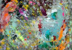 abstract aqua mural pics - Google Search