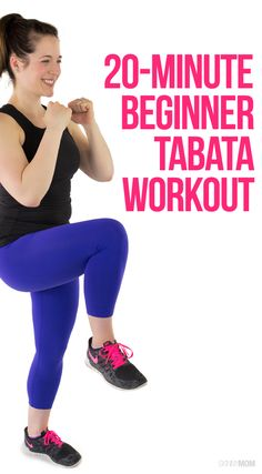 You HAVE to try this 20-minute Tabata workout perfect for beginners!
