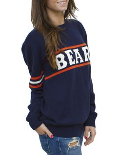 Throwback Intarsia Sweater, Ditka style