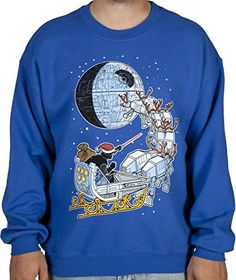 Vader Sleigh Ugly Faux Sweater (Large) Fifth Sun http://www.amazon.com/dp/B00OI1WE1A/ref=cm_sw_r_pi_dp_qRhJub1JBTAFP