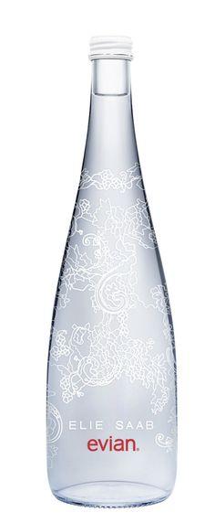Evianlace #water #agua #packaging