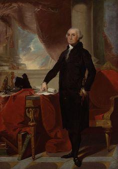 Portrait of George Washington, 1796 - Thomas Sully