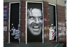 Graffitis de Personagens de Filmes.