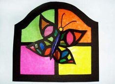 Stained Glass Mother's Day Card