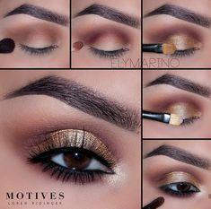 Make up tutorial Makeup Eye Looks, Eye Makeup Tips, Cute Makeup, Makeup Goals, Dior Makeup, Dress Makeup, Beauty Makeup, Makeup With Black Dress, Holographic Eyeshadow