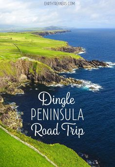 One day road trip on the Dingle Peninsula. Visit Inch Beach, the Conor Pass, Slea Head Drive, and the lovely little town of Dingle. Driving directions and tips to have the best experience. Ireland Beach, Ireland Vacation, Ireland Travel, Dublin Ireland, Cork Ireland, Backpacking Ireland, Backpacking Trips, Inch Beach, Road Trip Hacks