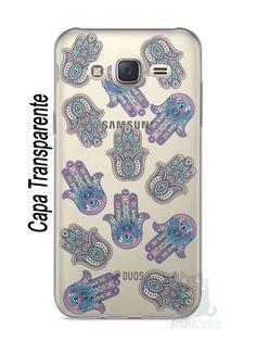 Capa Capinha Samsung J7 Mãozinhas Hamsá - SmartCases - Acessórios para celulares e tablets :)