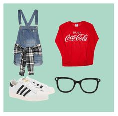 Untitled #185 by sshedenah on Polyvore featuring polyvore, fashion, style, Boohoo and adidas Originals