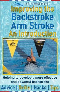 In this article, we will provide advice, drills, hacks and tips on improving the backstroke arm stroke. #backstrokeswimming #backstrokepull #eatsleepswimcoach Breaststroke Swimming, Swimming Drills, Swimming Gear, Baby Swimming, Swimming Workouts For Beginners, How To Swim Faster, Teach Kids To Swim, Baby Swim Float, Butterfly Swimming