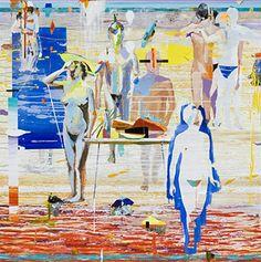 Pinturas de agua n°3, Alfonso Albacete. 2009.