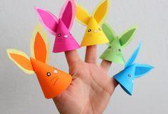 Marionetas de papel para dedos | Blog de BabyCenter