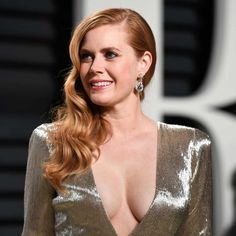 Amy Adams in Cindy Chao earrings at the Vanity Fair Oscar party