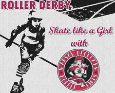 Roller Derby poster by WHRG Become a Warsaw Hellcat!!!