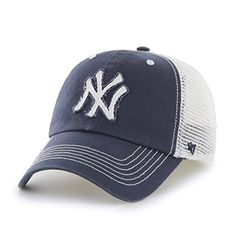 c36f70fd516 MLB New York Yankees Taylor Closer Stretch Fit Hat