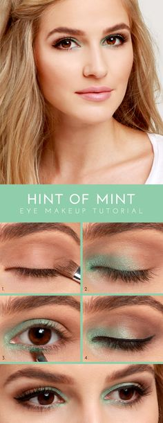 Lulus.com how-to: Hint of Mint Eye Shadow