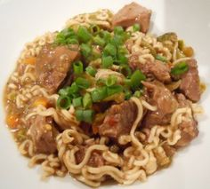 This recipe for Asian Beef with Ramen Noodles is one of those easy ramen noodle recipes that you can whip up when youre craving Asian food, but dont want to spend hours prepping in the kitchen. This homemade ramen noodle recipe includes stir fry vegetables, beef stew meat, a stir fry sauce of your choosing, green onions and some seasoning.