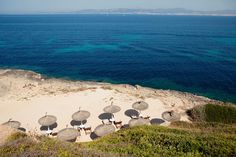 The sea and the cala of the hotel