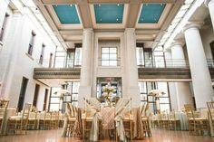 Wedding, Bouquet, Dahlias, Columbus Ohio, Posy, Statehouse, blush pink, blue