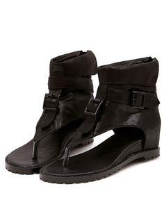 Shop Black Flip Buckle Strap Sandals online. SheIn offers Black Flip Buckle Strap Sandals & more to fit your fashionable needs.