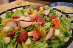 Try out this killer #SideDish this weekend - Green #Salad with #Orange , Roasted #Radish & #GoatMilk #Cheddar, and a #Creamy #Dill #SaladDressing !  This show is brought to you by Harvest Barn Niagara on the Lake & Harvest Barn St Catharines: http://HarvestBarn.ca @HarvestBarnNOTL  * Subscribe to Cooking With Kimberly: http://cookingwithkimberly.com @CookingWithKimE #cwk