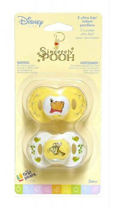 Disney Baby Sincerely Pooh Ultra Kip Infant Pacifiers 3 Months >>> Click image for more details. (This is an affiliate link) Winnie The Pooh Nursery, After Baby, Everything Baby, Baby Needs, Baby Disney, Disney Baby Clothes, Baby Bottles, Baby Accessories, Baby Sleep