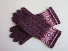 Best Wool Gloves Ladies Lace Gloves Hand Knitted Wool Gloves for Women Spring/Autumn Women's Gloves