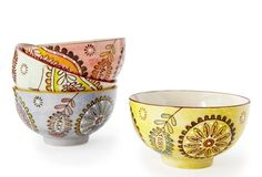 Asst of 4 Paisley Bowls in  from One Kings Lane on shop.CatalogSpree.com, your personal digital mall.
