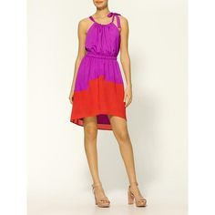 TLH By Hype Color Block Day Dress