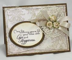 WT270 - Vintage Wedding by cookiebaker - Cards and Paper Crafts at Splitcoaststampers