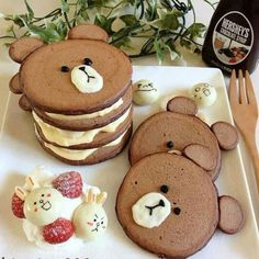 Brown & Cony Pancake