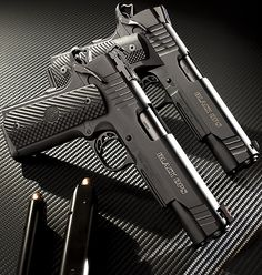 Have 2 coming for Christmas :) Para Ordnance Black Ops 1911 ionbond Weapons Guns, Guns And Ammo, Rifles, Airsoft, Colt M1911, Revolvers, Para Ordnance, 1911 Pistol, Fire Powers