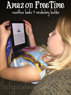Amazon FreeTime Unlimited service that provides kids with thousands of books, apps, games, shows and movies for $2.99 a month. Great service! #KindleForKids #CleverGirls #ad