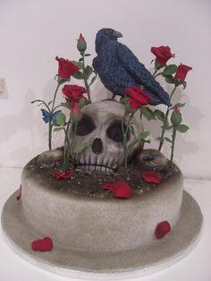 creepy awesome amazing cake